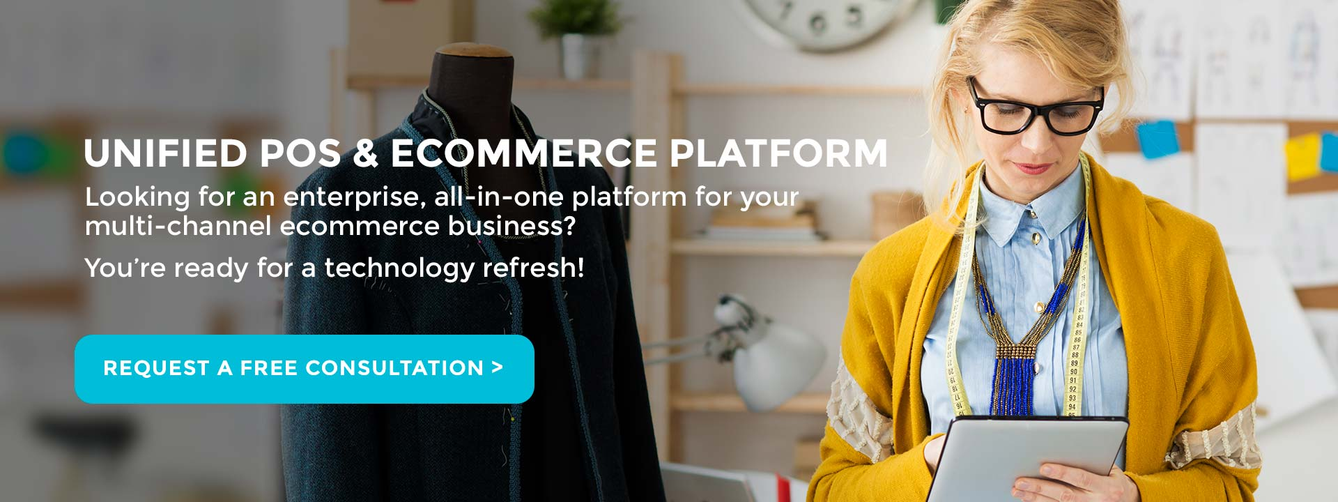 Omni Channel Commerce is THE Unified POS & Ecommerce Platform.